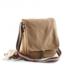 Vintage Canvas Messenger
