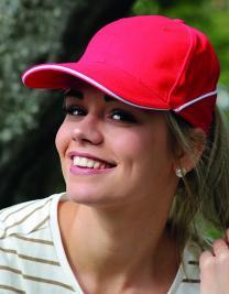 Cap White-Stripe
