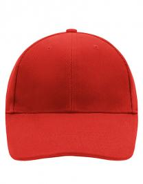 6-Panel Cap stirnanliegend