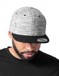 Stripes Melange Crown Snapback